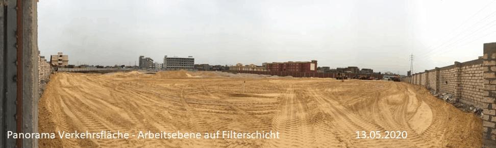 Baustelle Schulneubau 2020